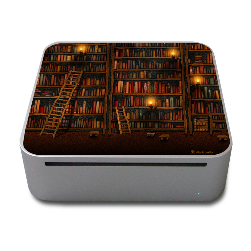 Library Mac mini Skin