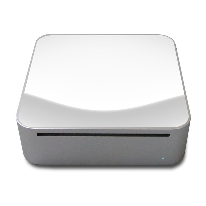 Solid State White Mac mini Skin