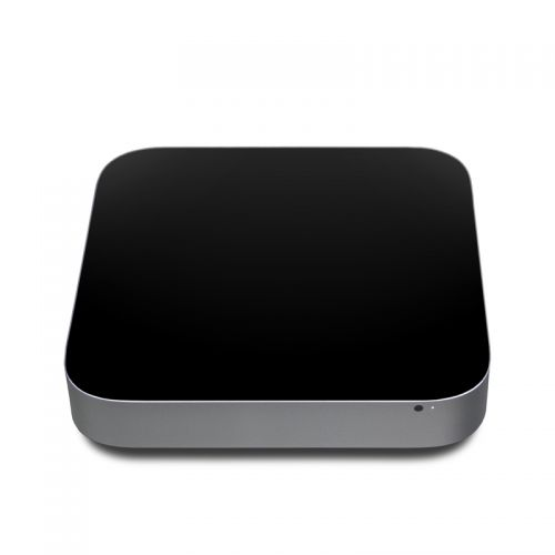 Solid State Black Apple Mac mini Skin