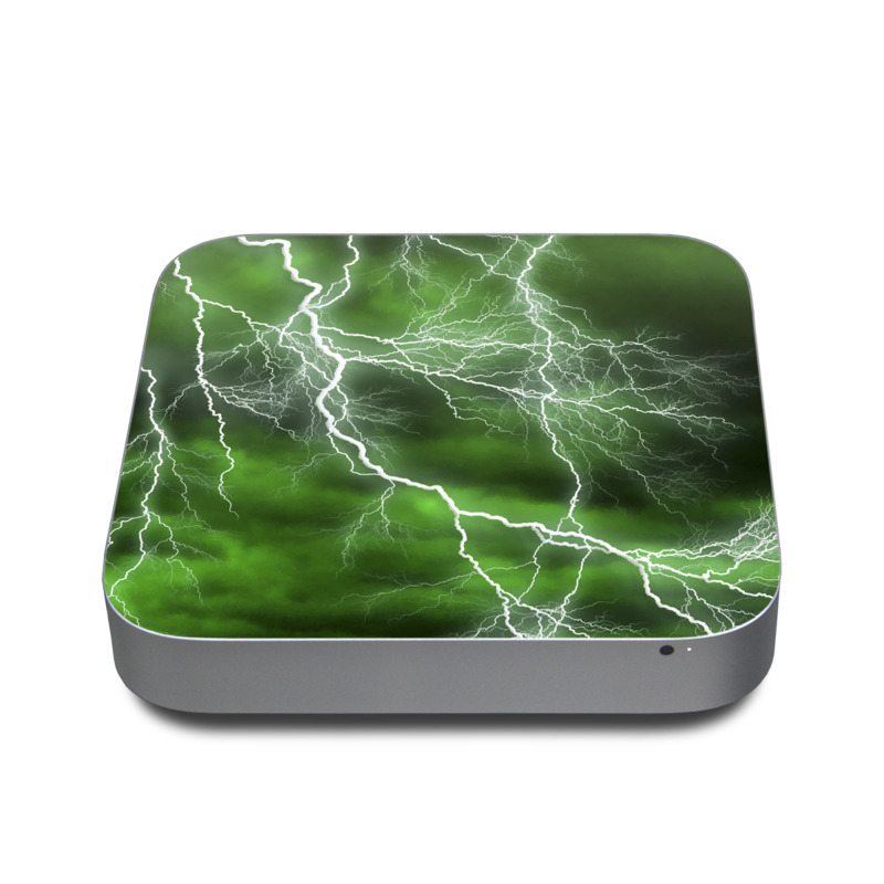 Apocalypse Green Apple Mac mini Skin