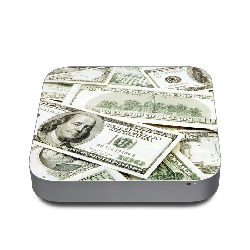 Benjamins Apple Mac mini Skin