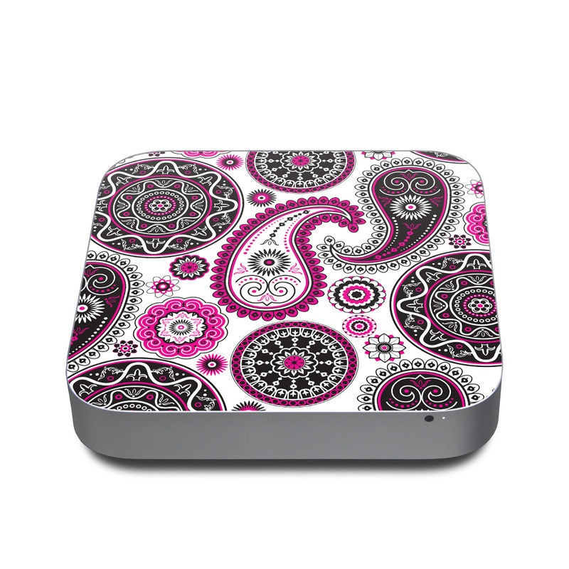 Boho Girl Paisley Apple Mac mini Skin