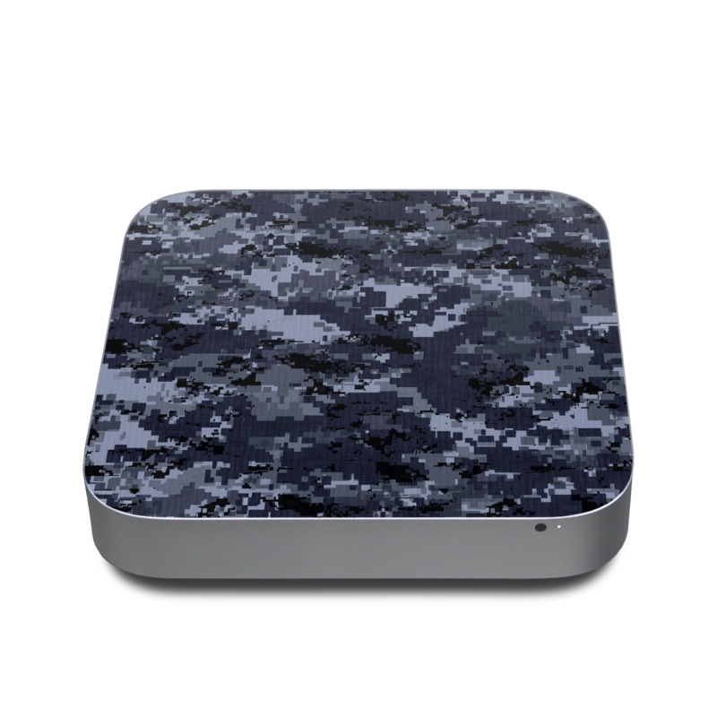 Digital Navy Camo Apple Mac mini Skin