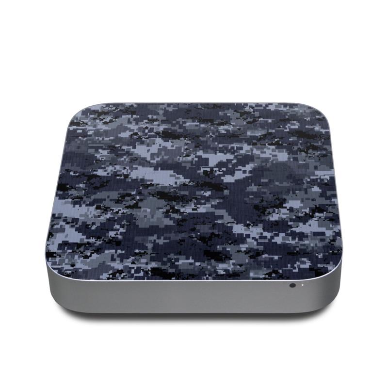 Digital Navy Camo Apple Mac mini Skin