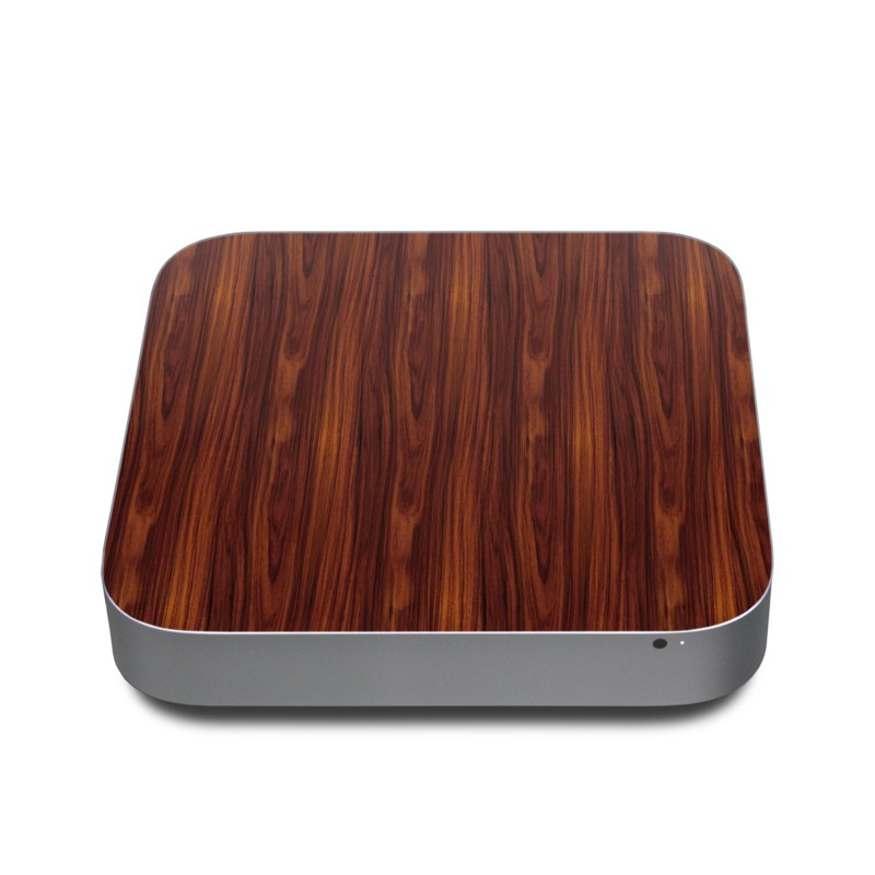 Dark Rosewood Apple Mac mini Skin
