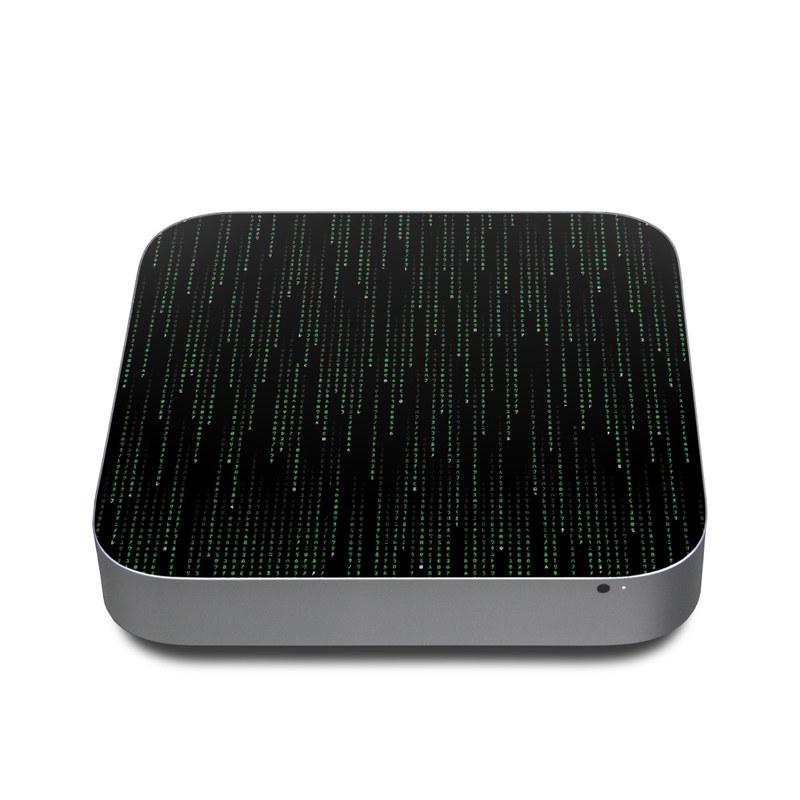 Matrix Style Code Apple Mac mini Skin