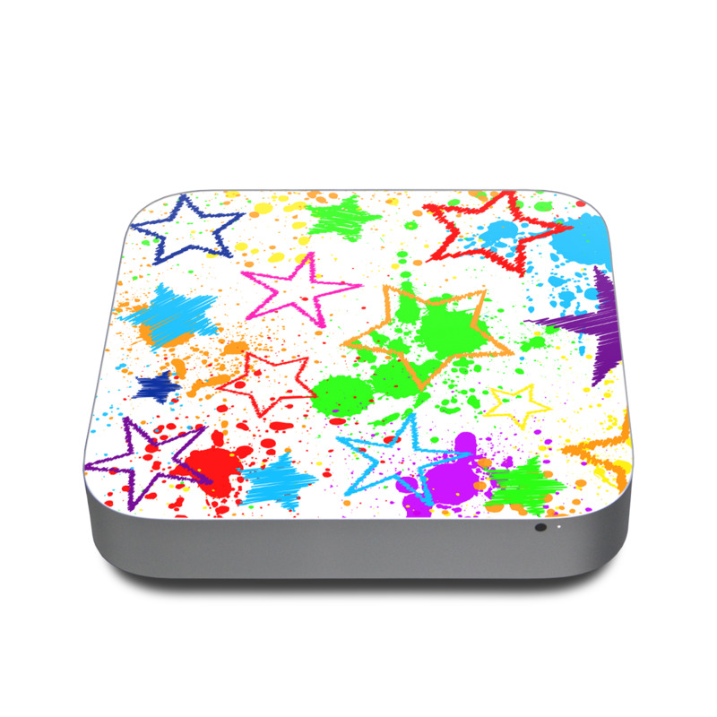 Scribbles Apple Mac mini Skin