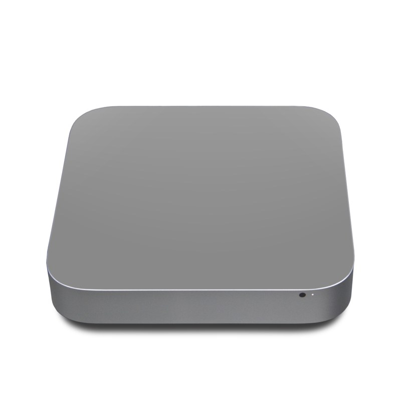 Solid State Grey Apple Mac mini Skin