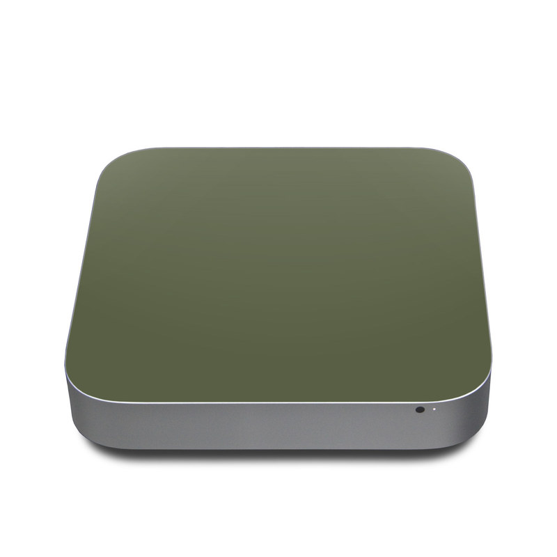 Solid State Olive Drab Apple Mac mini Skin