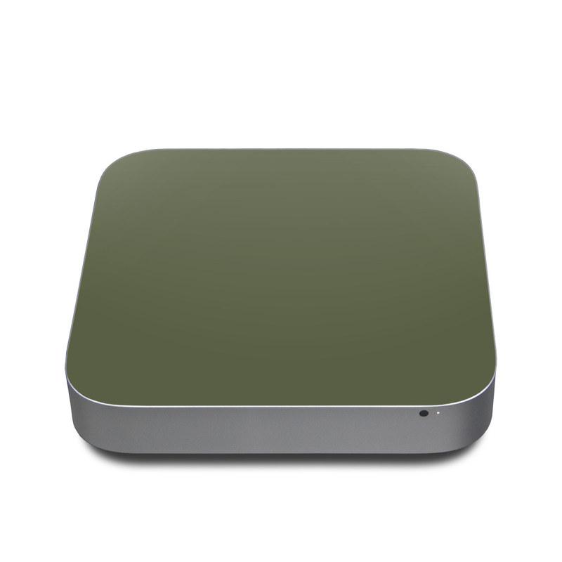 Solid State Olive Drab Apple Mac mini Skin