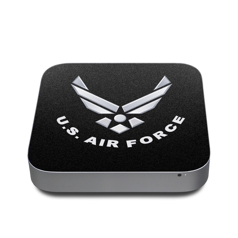 USAF Black Apple Mac mini Skin