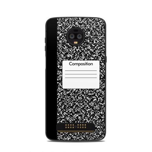 Composition Notebook Motorola Moto Z3 Skin