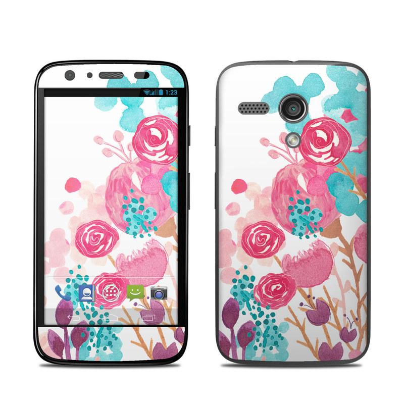 Blush Blossoms Motorola Moto G Skin