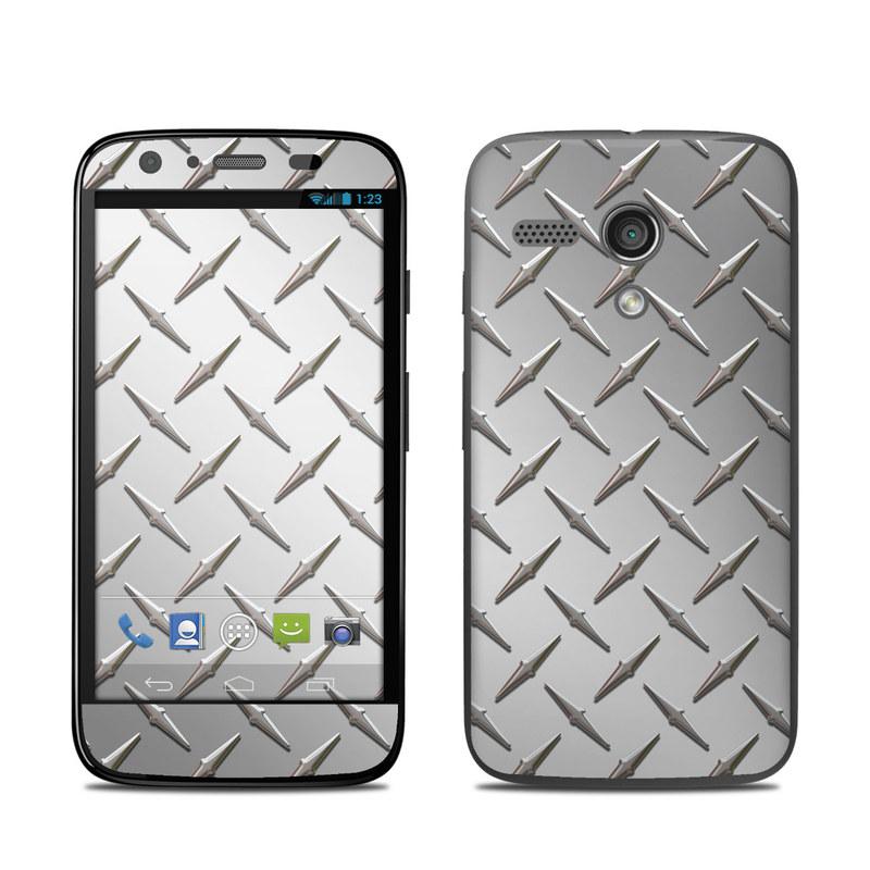 Diamond Plate Motorola Moto G Skin