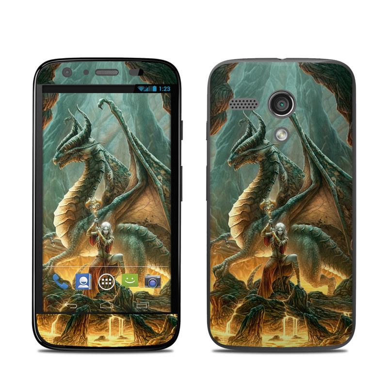 Dragon Mage Motorola Moto G Skin