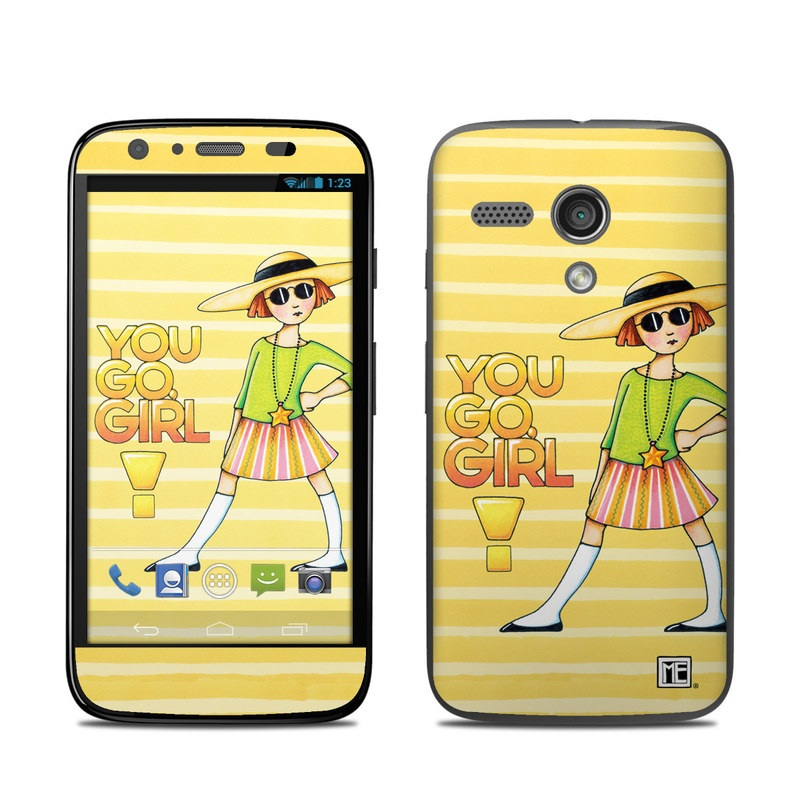 You Go Girl Motorola Moto G Skin