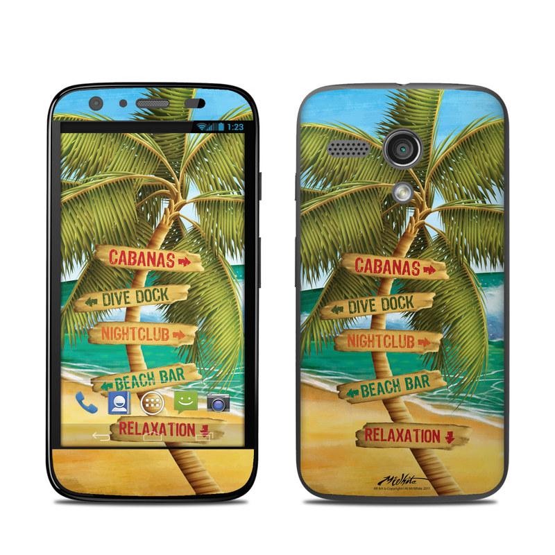 Palm Signs Motorola Moto G Skin