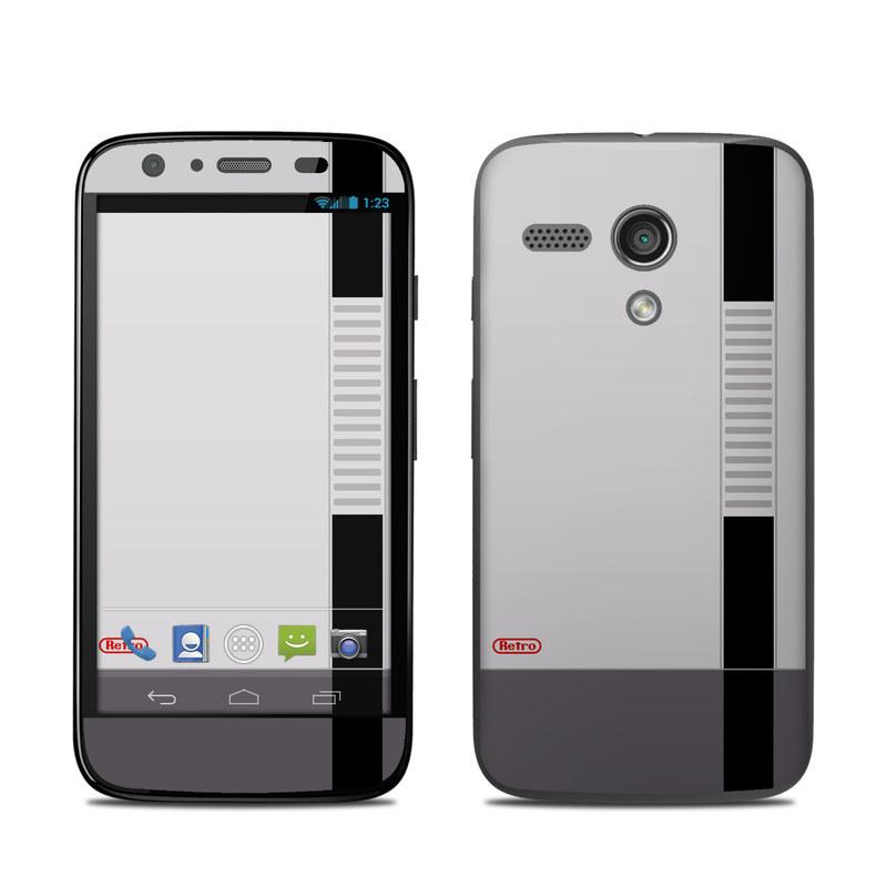 Retro Horizontal Motorola Moto G Skin