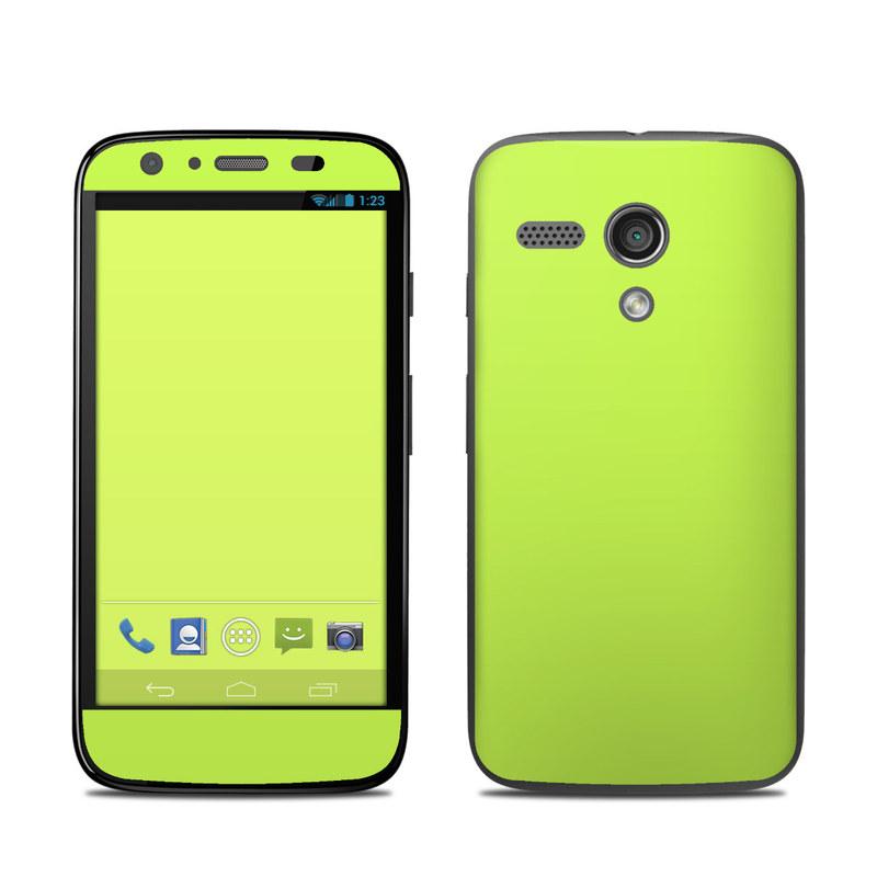 Solid State Lime Motorola Moto G Skin