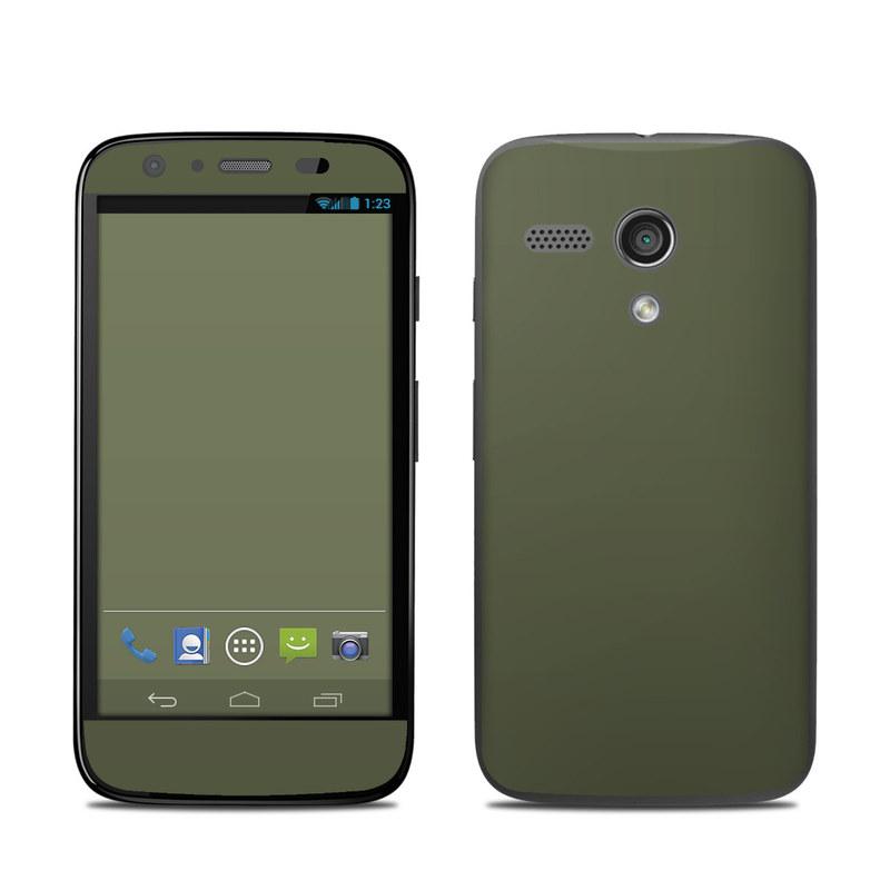 Solid State Olive Drab Motorola Moto G Skin