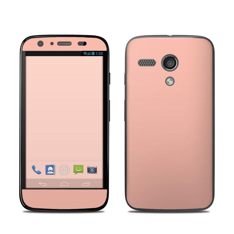 Solid State Peach Motorola Moto G Skin