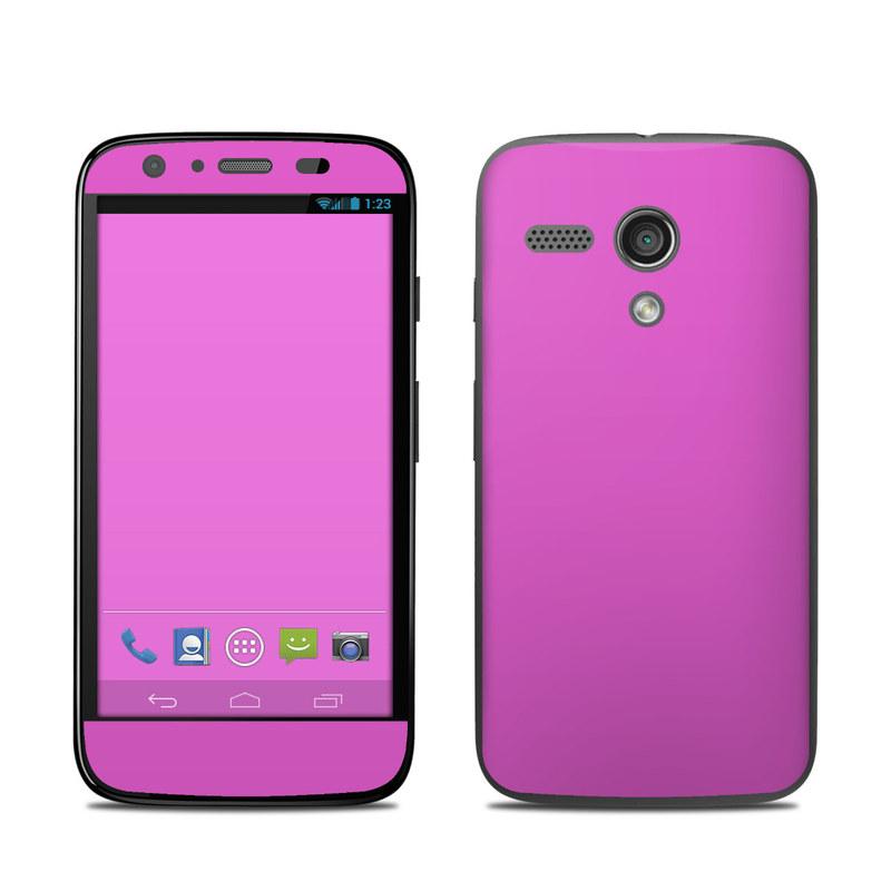 Solid State Vibrant Pink Motorola Moto G Skin