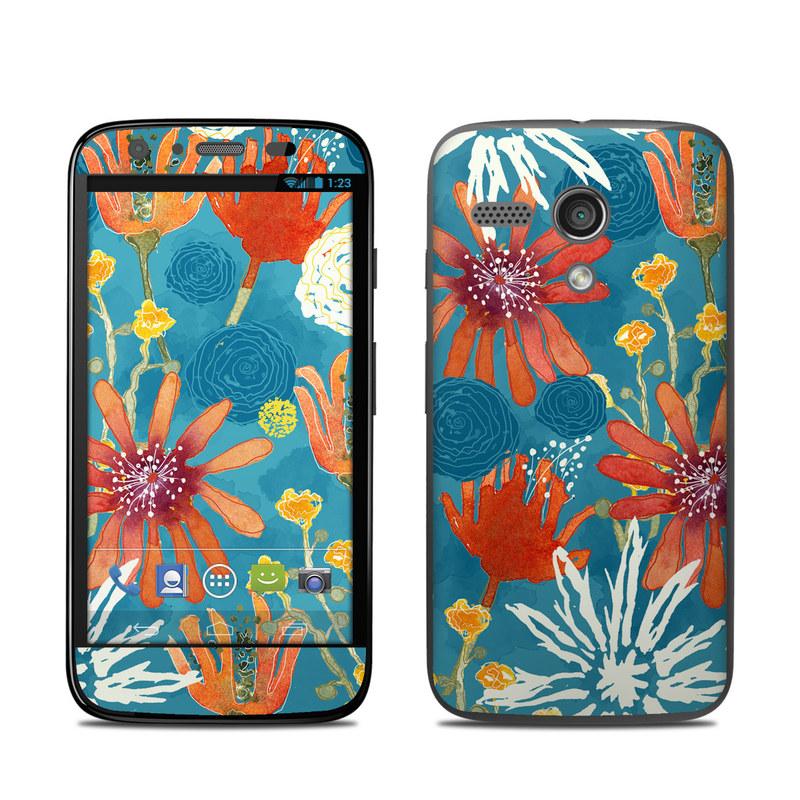 Sunbaked Blooms Motorola Moto G Skin