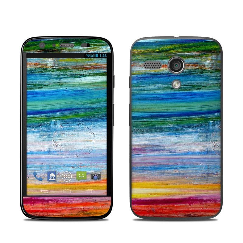 Waterfall Motorola Moto G Skin