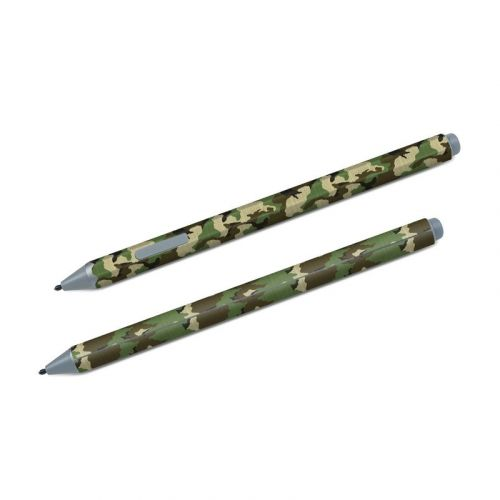 Woodland Camo Microsoft Surface Pen Skin
