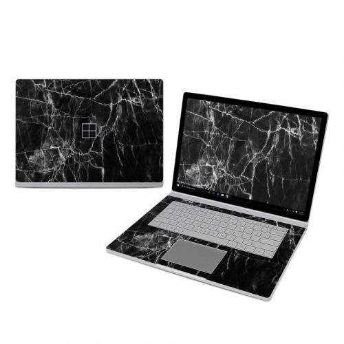 Black Marble Microsoft Surface Book 3 15-inch i7 Skin