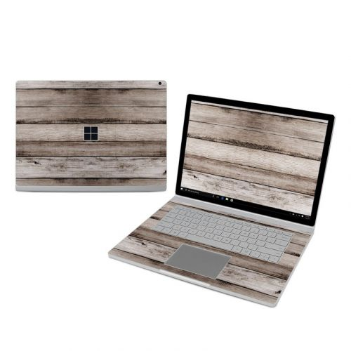 Barn Wood Microsoft Surface Book 3 15-inch i7 Skin