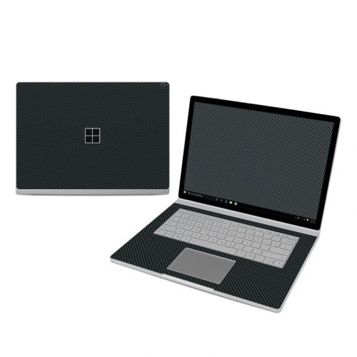 Carbon Microsoft Surface Book 3 15-inch i7 Skin
