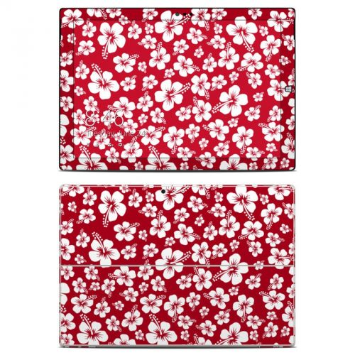 Aloha Red Microsoft Surface Pro 3 Skin