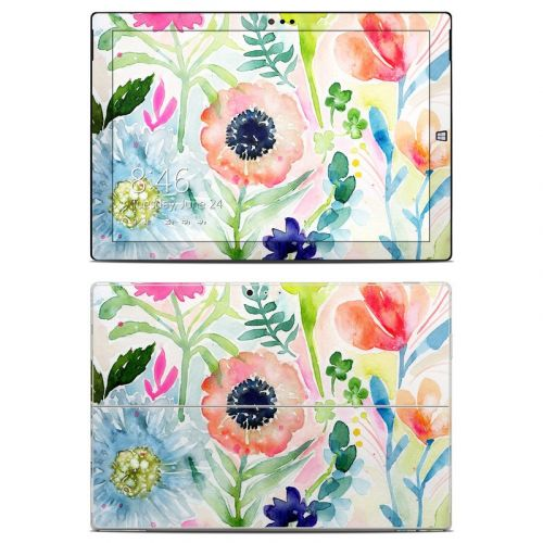 Loose Flowers Microsoft Surface Pro 3 Skin