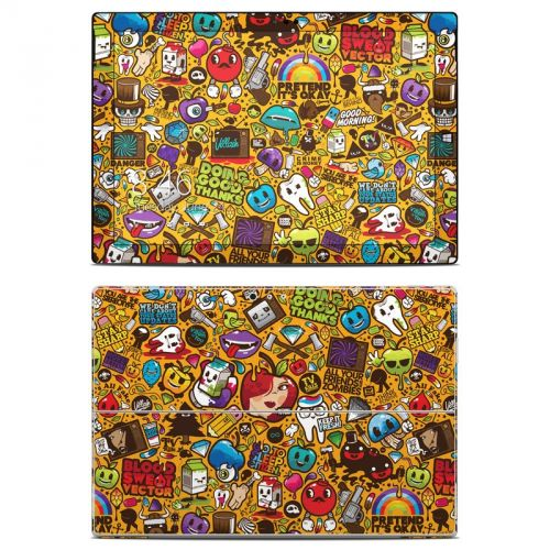 Psychedelic Microsoft Surface Pro 3 Skin