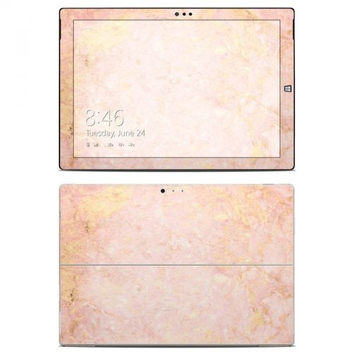 Rose Gold Marble Microsoft Surface Pro 3 Skin