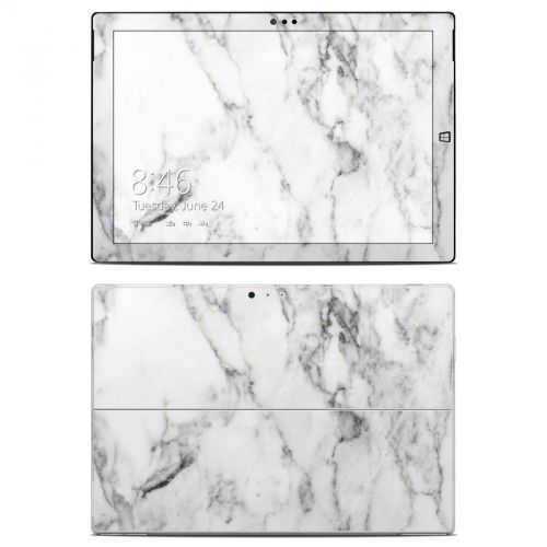 White Marble Microsoft Surface Pro 3 Skin