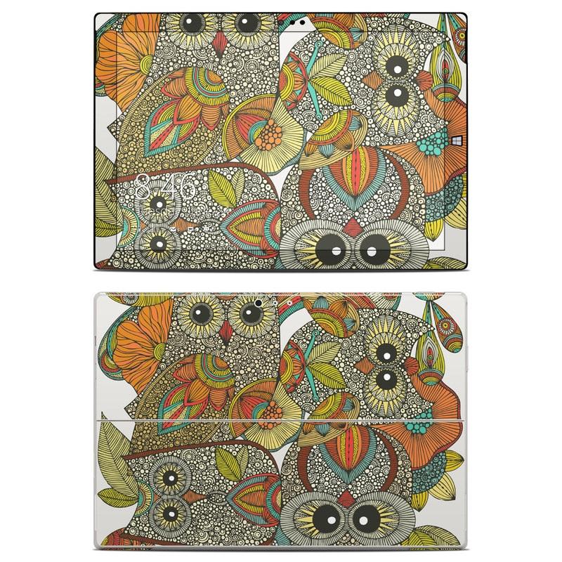 4 owls Microsoft Surface Pro 3 Skin