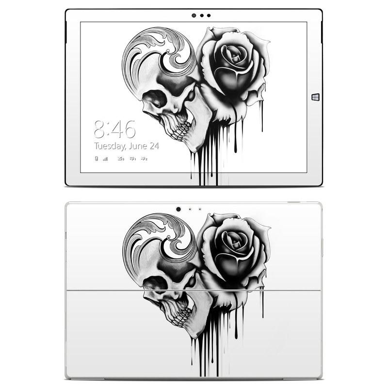 Amour Noir Microsoft Surface Pro 3 Skin