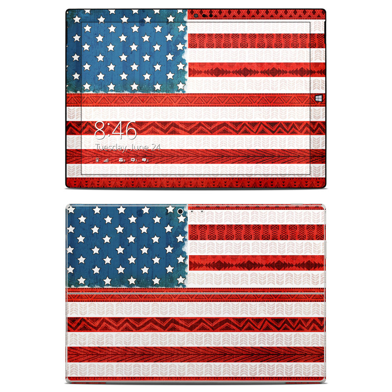 American Tribe Microsoft Surface Pro 3 Skin