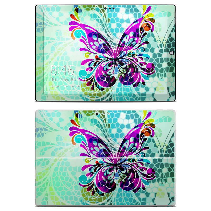 Butterfly Glass Microsoft Surface Pro 3 Skin