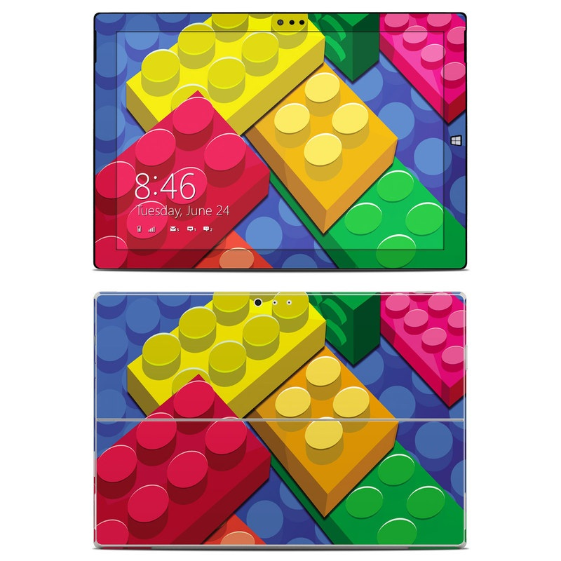 Bricks Microsoft Surface Pro 3 Skin