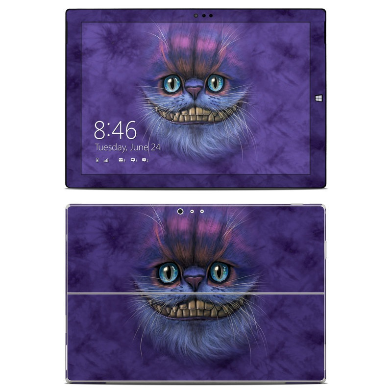 Cheshire Grin Microsoft Surface Pro 3 Skin