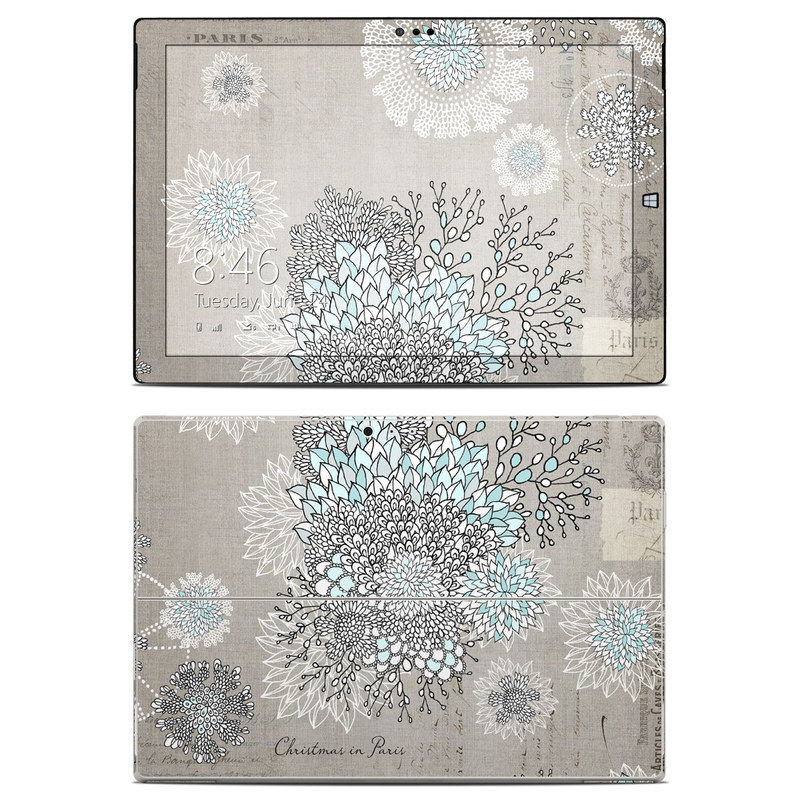 christmas in paris microsoft surface pro 3 skin istyles. Black Bedroom Furniture Sets. Home Design Ideas
