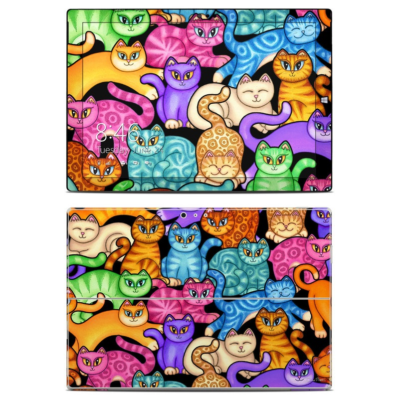 Colorful Kittens Microsoft Surface Pro 3 Skin