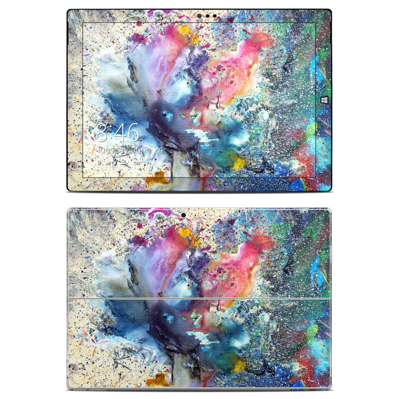 Cosmic Flower Microsoft Surface Pro 3 Skin