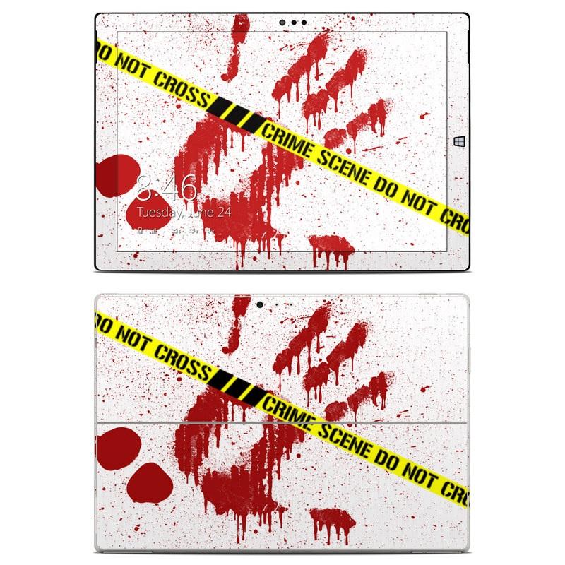 Crime Scene Revisited Microsoft Surface Pro 3 Skin