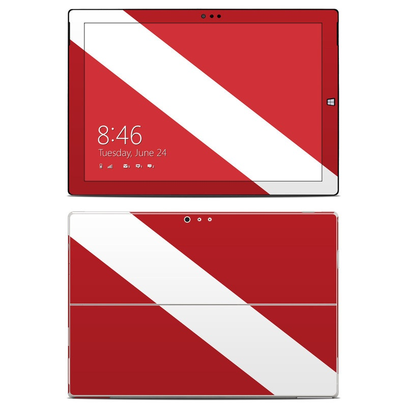 Diver Down Microsoft Surface Pro 3 Skin