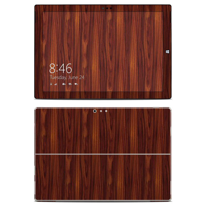 Microsoft Surface Pro 3 Skin design of Wood, Red, Brown, Hardwood, Wood flooring, Wood stain, Caramel color, Laminate flooring, Flooring, Varnish with black, red colors