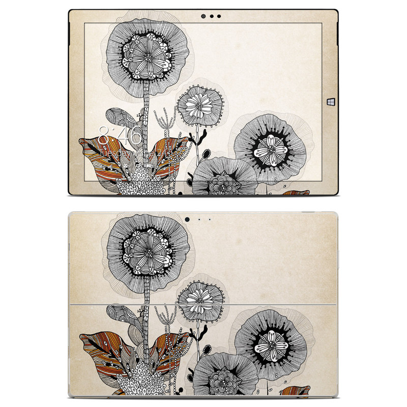 Four Flowers Microsoft Surface Pro 3 Skin